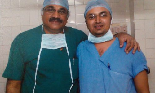 with Dr.Abhay Narvekar, Senior Arthroscopist, Mumbai ,2008-2009