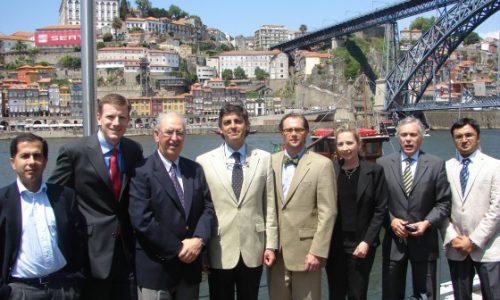 with Prof.William Clancy and all other genius Arthroscopist near Douro River, Porto,Portugal -2010, ESSKA Fellowship