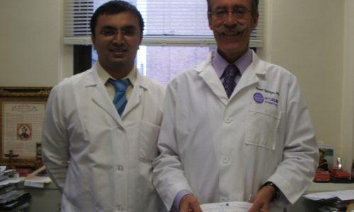 with Prof. Sturart Springer, Hospital For Joint Diseases, New york University, NY, USA (  Jan.- Feb. 2009),.
