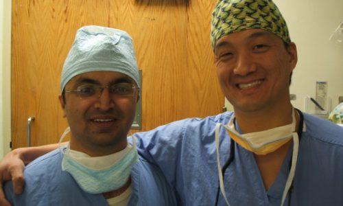 with Prof.  Lee ,NYU HJD,NY, 2009
